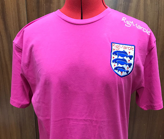 Rig Marole®Pink T/Shirt in sizes M, L, XL